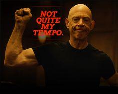 Whiplash, not quite my tempo, Fletcher, J.K. Simmons, Oscar 2015, película, cine.