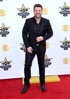 Chris Young Photos - 50th Academy Of Country Music Awards - Arrivals - Zimbio