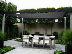 Beautiful patio tiles When historic throughout strategy, a pergola may be experiencing a bit of Modern Pergola, Outdoor Pergola, Outdoor Areas, Outdoor Rooms, Outdoor Living, Outdoor Decor, Pergola Kits, Pergola Ideas, Gazebo