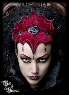 By Veil of Visions. Modeled by Lady Amaranth.