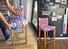 idea para decorar una silla