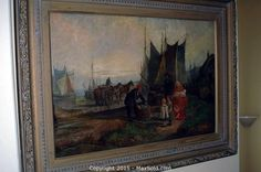MaxSold - Auction: North York Moving Online Auction -  Oil On Board sold for $1600