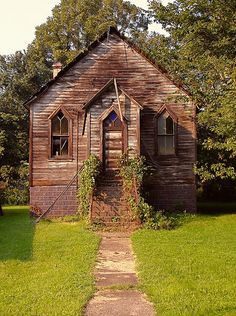 Church in Smithdale, PA (along the Youghiogheny bike trail). by Equinox27, via Flickr