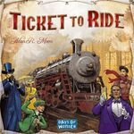 """Ticket To Ride by Days of Wonder. The Ticket To Ride Board Game is a cross-country train adventure that celebrates Fogg's impetuous and lucrative gamble to travel """"Around the World in 80 Days"""" by proposing a new wager. Family Boards, Family Board Games, Board Games For Kids, Fun Games, Games To Play, Playing Games, Ticket To Ride, Ride 2, Strategy Games"""