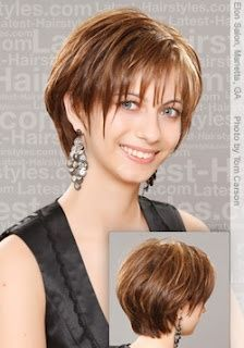 Nice short hair style!