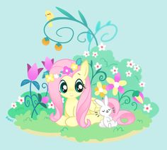 flower fluttershy.:)