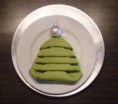 Елочка в тарелке. Идея для декора новогоднего стола #новогодний_декор #будем_делать #елки