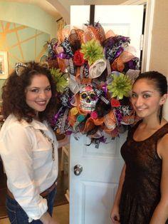 How to make Halloween wreaths!
