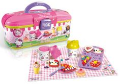 Shop Canal Toys - Cake shop Hello Kitty - Free delivery and returns on eligible orders of or more. Hello Kitty Games, Chat Hello Kitty, Supply List, Cake Shop, Oeuvre D'art, Party Supplies, Lunch Box, Toys, Parties