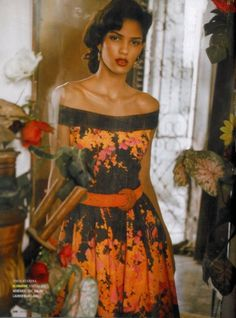 Mako Yamazaki styles Cris Urena in 'Mambo Show', lensed by Thierry Le Goues for Marie Claire France. Havana Party, Havana Nights Party, Cuba Fashion, Fashion Show, Trendy Fashion, Women's Fashion, Vintage Cuba, Marie Claire France, Black Magic Woman