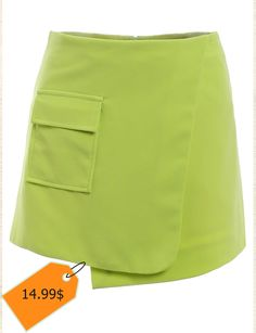 Simple A-line pocket Culottes For Women