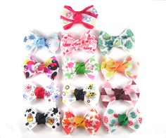 A Year in Hair Bows  One for Every Month  by ACrystalGarden, $19.99