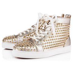 bd9deb98b7 CHRISTIAN LOUBOUTIN Louis Orlato Men s Flat.  christianlouboutin  shoes  High Top Sneakers