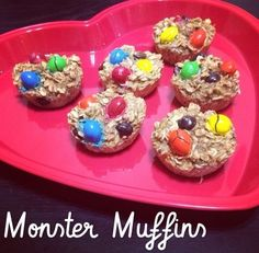 Ripped Recipes - Monster Muffins - Monster cookies cleaned up and put into muffin form!