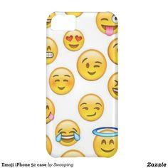 Caso del iPhone 5c de Emoji Funda Para iPhone 5C                              …