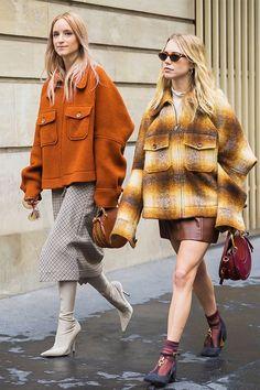 matching oversized jackets