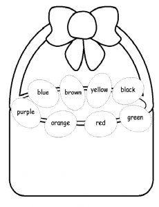 33 best easter worksheet for kids images on pinterest easter colorin easter worksheet for preschool ibookread Download