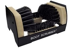 JobSite The Original Boot Scrubber - All Weather Industrial Shoe Cleaner & Scraper Brush Look Good Feel Good, Clean Shoes, Plastic Molds, Cool Boots, Metal, Frame, Diving, Top, Snow Rain