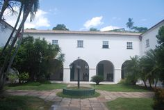 Pátio da Pousada do Convento do Carmo_Cachoeira_Bahia_Brasil
