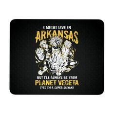 Super Saiyan Arkansas Mouse Pad - TL00096MP