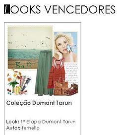 Já pensou em ir para Bali? A Dumont pensou por você. E já temos a primeira finalista!! Clique e saiba como participar http://fashion.me/ ;)