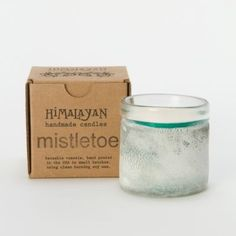 Frosted Mistletoe Candle, Small in House+Home HOME DÉCOR Candles Scented at Terrain