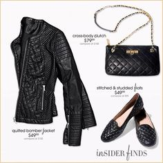 Quilted leather. We're obsessed. Hint: this is NOT your Grandmother's quilt! #fabfound #trends #fall