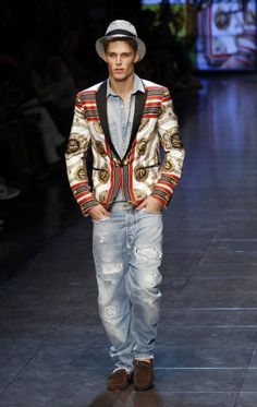 Men's Trends Spring-Summer 2012 Dolce&Gabbana