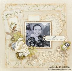 I made this layout featuring a photo of sweet Meredith along with beautiful Pion Design papers from the A Day in May Collection. For more info, please feel free to visit my blog: http://cupcakescreations.blogspot.com/2014/01/love.html Thanks for looking :)