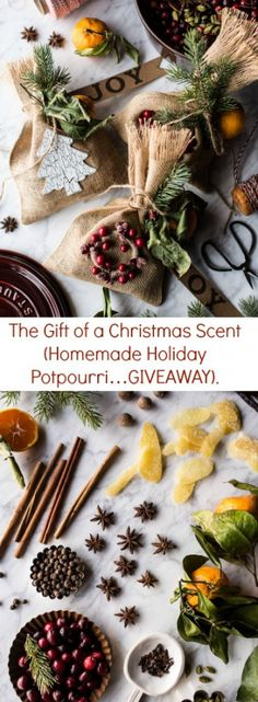 The Gift of a Christmas Scent (Homemade Holiday Potpourri…GIVEAWAY)   halfbakedharvest.com @hbharvest