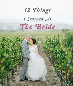 12 Tips for planning a wedding from a past bride!