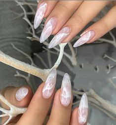 40 Pretty Nude & Ombre Acrylic And Matte White Nails Design For Short And Long Nails - Page 4 of 40 - Almond Nails Matte White Nails, White Acrylic Nails, Almond Acrylic Nails, White Nail Art, Stiletto Nail Art, Stiletto Nail Designs, Long White Nails, Love Nails, Edgy Nail Art