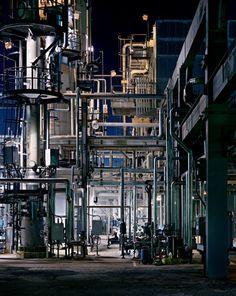 Oil Refineries No. 22 New Brunswick (1999) / by Edward Burtynsky