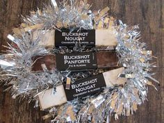 Buckshot Nougat & Panforte  Nougat & Panforte Christmas Pack    A wonderful Christmas gift sent direct to your door or to someone special for Christmas! We are proud to offer our Royal Melbourne Fine Food Awards gold medal winning nougat & panforte as a special promotion for Christmas.