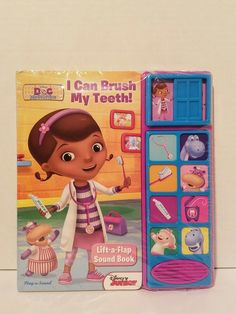 Disney Junior Doc McStuffins I Can Brush My Teeth! Lift-a-Flap Sound Book. 3 replaceable long-life AG-13 button cell batteries included. NEW: in original plastic wrap. | eBay!