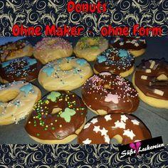 Donuts - ohne Maker - Süße kleine Leckereien - Jenny´s Blog!