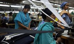 MDG : Bangladesh : Garment Factory...Bangladesh's garment industry still offers women best work opportunity  A revised minimum wage could help women working in harsh conditions who have few other places to go, but employers say they are also suffering as a result of disrupted production