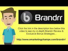 https://www.youtube.com/watch?v=_ngr33zafJk Brandrr Review