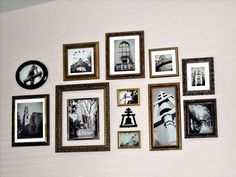 Picture Frame Wall Collage | Stewart Design Studios