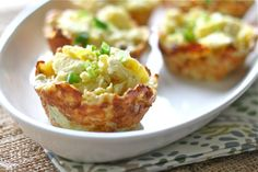 "Hashbrown Nests ...these are really easy....and there are just a few ingredients that you probably have on hand.  A last minute idea for ""comfort food""."