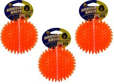 (3 Pack) PetSport Gorilla Ball, Large -- Check this awesome product by going to the link at the image. (This is an affiliate link) #MyPet