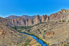 Smith Rock is a great place to visit when traveling through the state of Oregon.