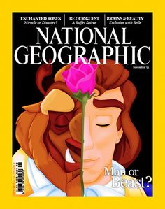 The Beast on the cover of National Geographic