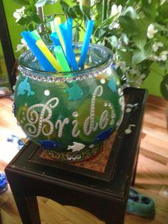 Under the sea themed bridal shower invitation aliciasinfinity under the sea bridal shower fishbowl drink from notsosinglegirl filmwisefo