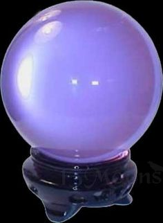 Purple Crystal Ball 2 in