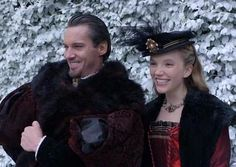 Katherine Howard as played by Tamzin Merchant with JRM as King Henry VIII