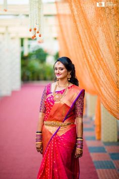 bridal jewelry for the radiant bride South Indian Wedding Saree, South Indian Bride, Saree Wedding, Indian Bridal, Kerala Bride, Tamil Wedding, Bridal Looks, Bridal Style, Telugu Brides
