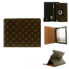Louis Vuitton iPad Leather Case for ipad 3 and new ipad! Only $40.95! Website for iphone and ipad case..I like it,so cool