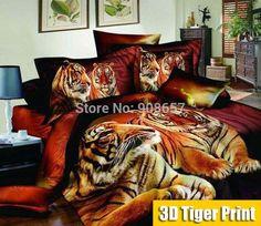 animal print bedding. jA