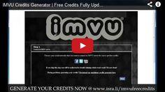 IMVU Free Credits Generator